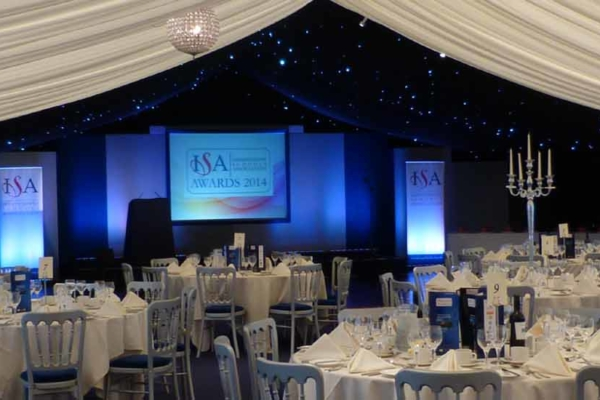 ISA Awards Coomb Abbey In The Marquee Cropped