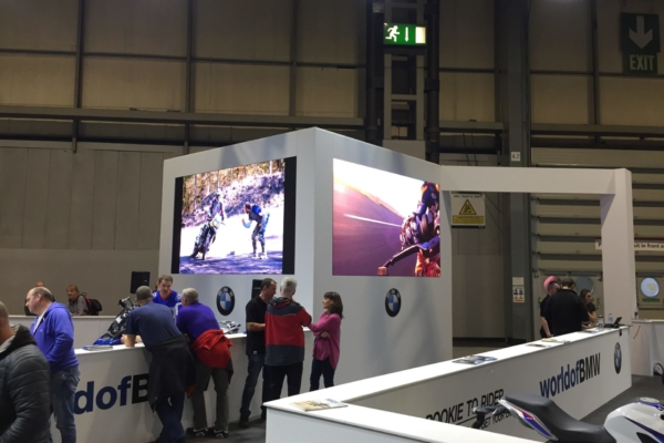 BMW Motorcycle Live 2 x Hi Resolution LED screens