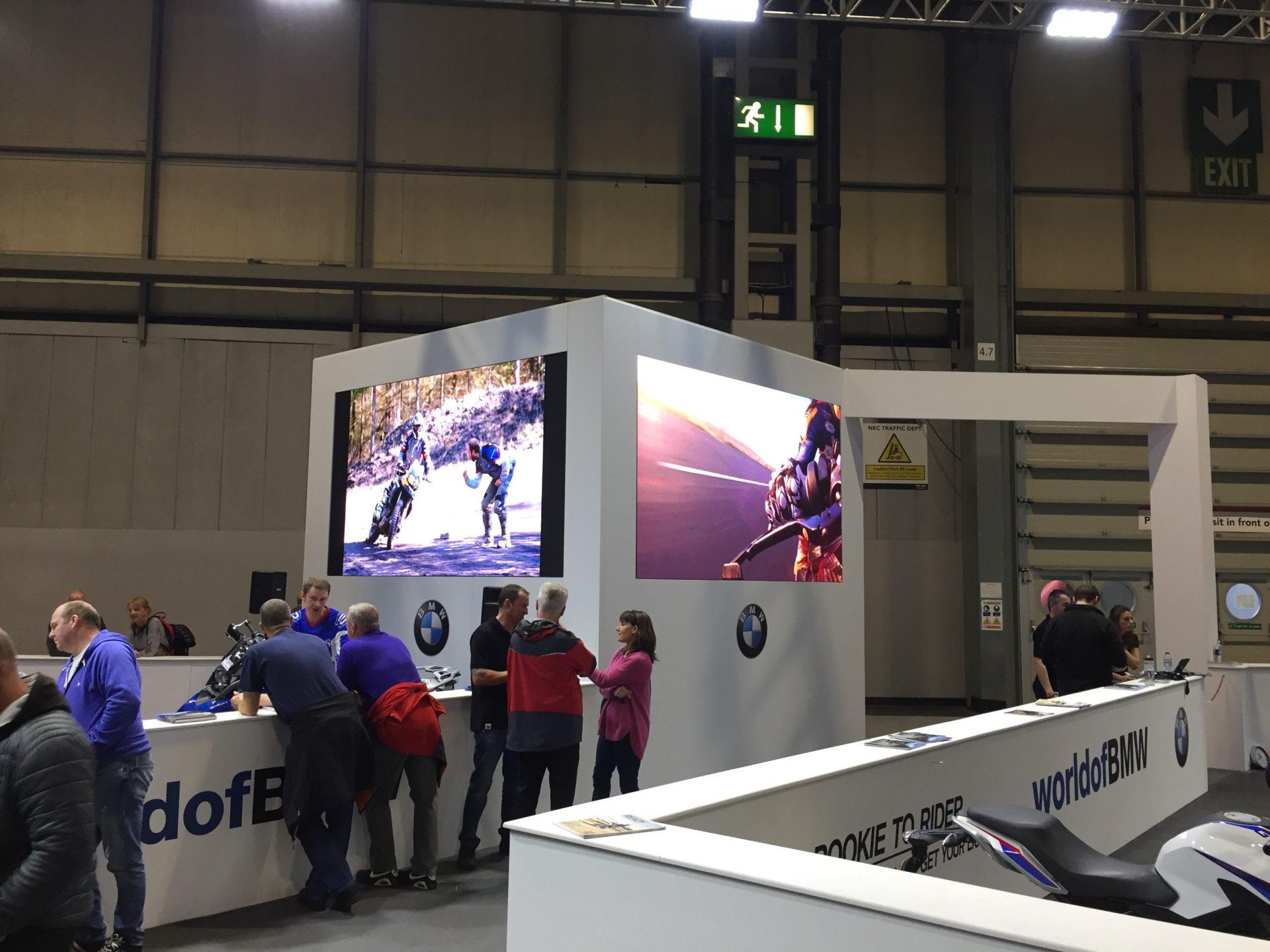 BMW Motorcycle Live 2 x Hi Resolution LED screens