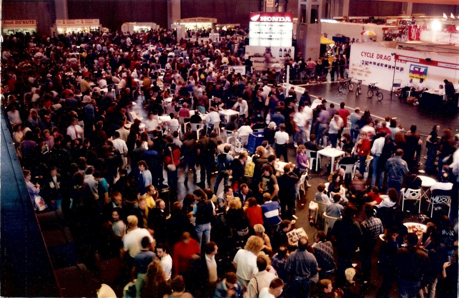 VIDIEX at 1991 Motorcycle Show